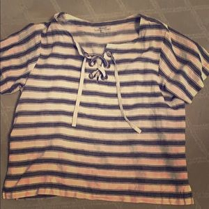 Madewell Lace Up Sailing Top ⛵️